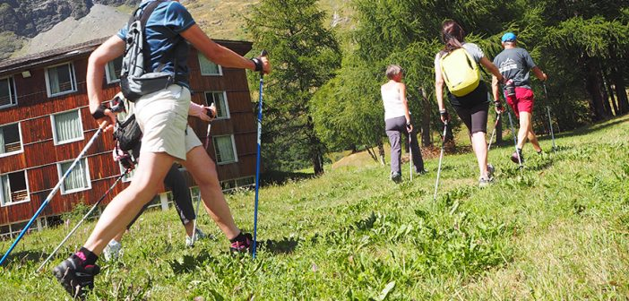 NORDIC WALKING IN QUOTA: A LUGLIO APPUNTAMENTO A BESSANS