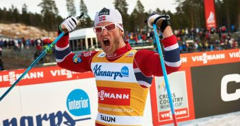 16.03.2014, Falun, Sweden (SWE): Martin Johnsrud Sundby (NOR) - FIS world cup cross-country, 15km men handicap start, Falun (SWE). www.nordicfocus.com. © Felgenhauer/NordicFocus. Every downloaded picture is fee-liable.