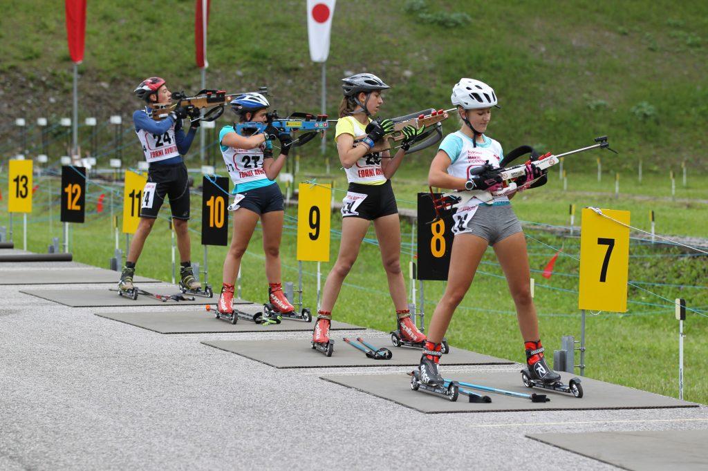 Alla Carnia Arena si sono sfidate anche le giovani promesse del biathlon.