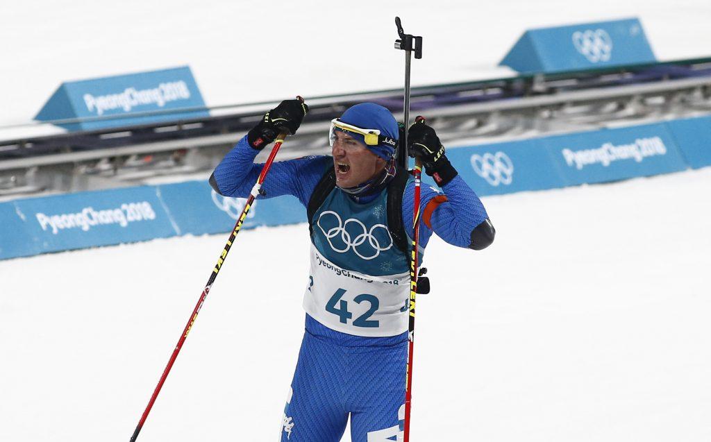 Olimpiadi Dominik Windisch. Photo: Pentaphoto