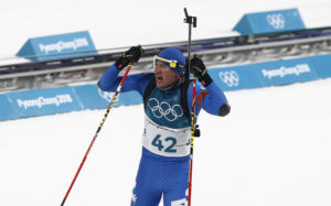 Olimpiadi Dominik Windisch. Photo: Pentaphoto