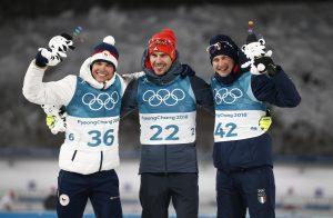 Podio Olimpiadi 10 Km Sprint, Bronzo Windisch