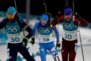 Wierer Olimpiadi 10 km pursuit